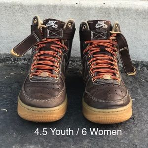 Nike Youth Air Force 1 High GS Shoes